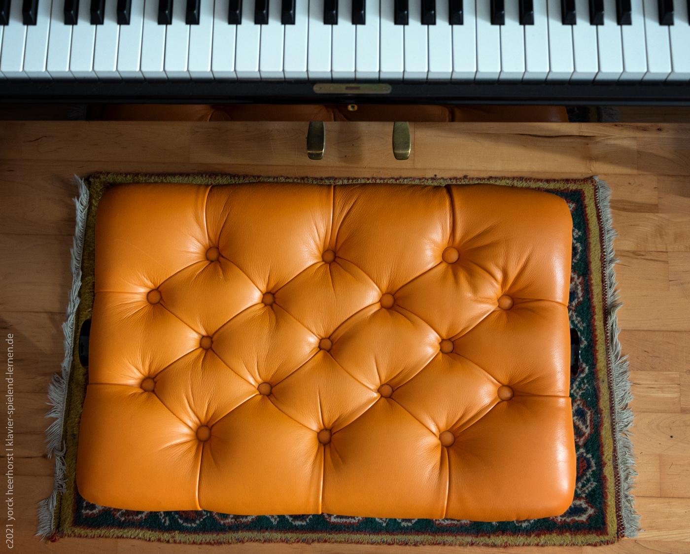 Klavierbank